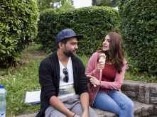 What are Anushka Sharma and Ali Abbas Zafar talking about so intensely in this picture?