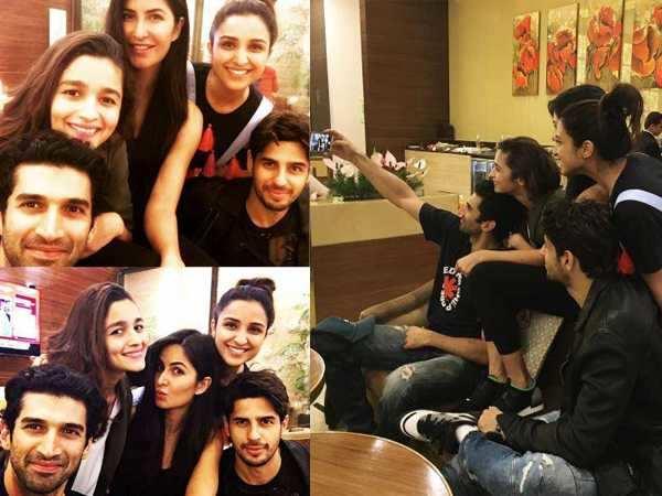 Aditya Roy Kapur, Alia Bhatt, Katrina Kaif, Parineeti Chopra and Sidharth Malhotra kickstart their USA tour