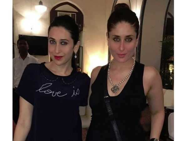 Image result for Kareena Kapoor Khan, Karisma Kapoor same dress