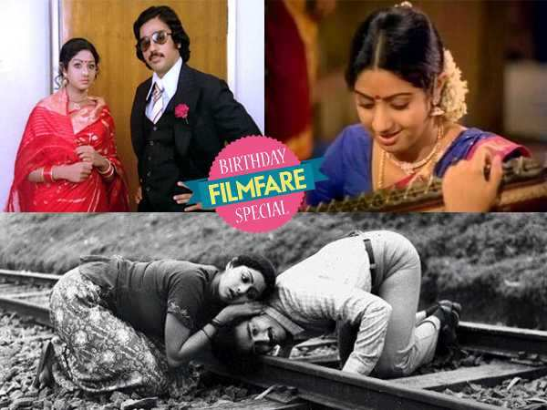 Five top Tamil films of Sridevi that you can't do without