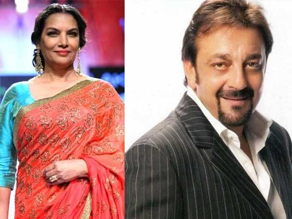 Shabana Azmi will play Sanjay Dutt's grandmother soon