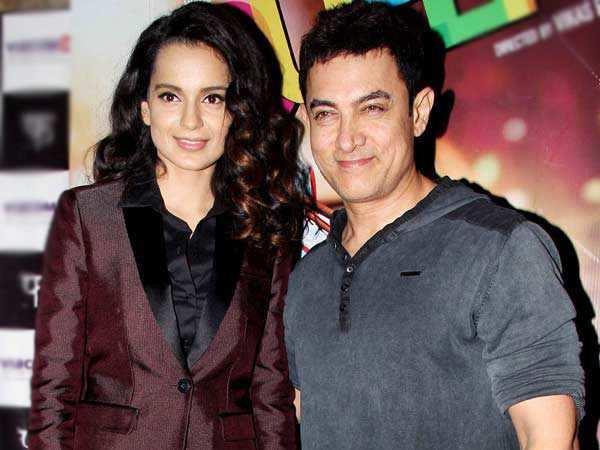Kangana Ranaut can't stop praising Aamir Khan's Dangal