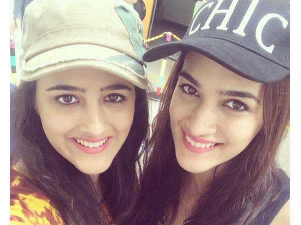 Kriti Sanon talks about her bond with sister Nupur Sanon