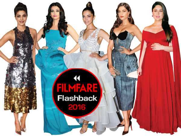 Filmfare Flashback 2016: Top 10 red carpet looks (Female)