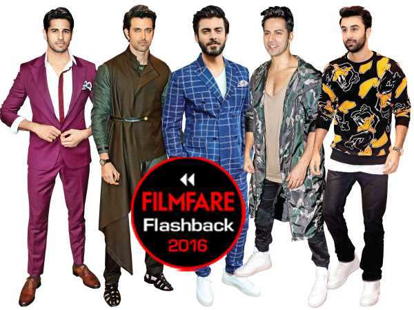 Filmfare Fashion Flashback 2016: Top 10 looks (Male)