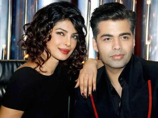 Priyanka Chopra shoots for Koffee with Karan episode