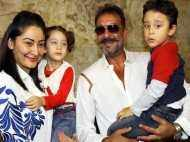 Sanjay Dutt makes up for lost time with Shahraan and Iqra