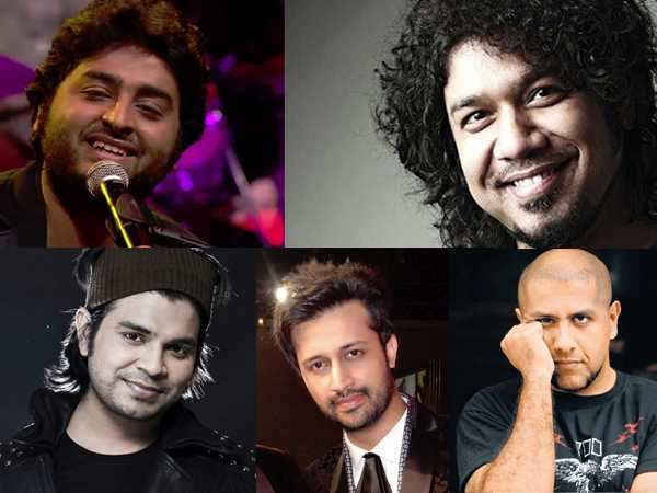 Nominees for the Best Playback Singer (Male)
