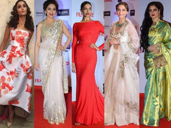 Fashion report of the 61st Britannia Filmfare Awards