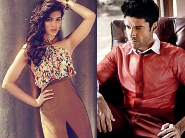 Kriti Sanon opposite Farhan Akhtar in Lucknow Central