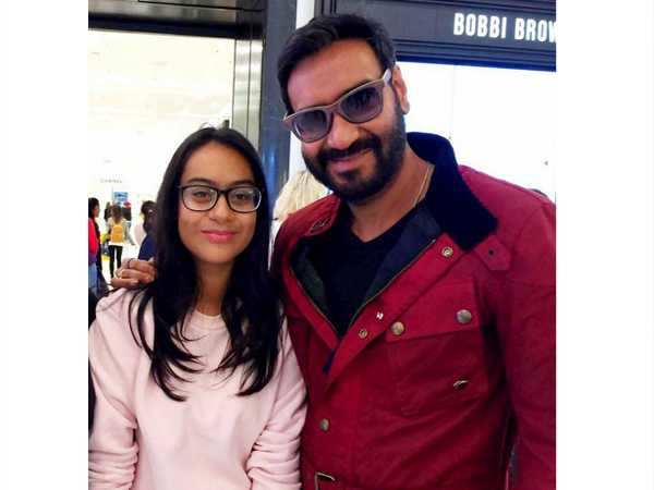 Ajay Devgn and daughter Nysa snapped in London
