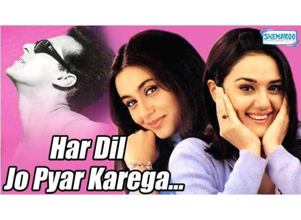 Salman Khan, Rani Mukherjee, Preity Zinta