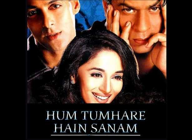 Salman Khan, Madhuri Dixit, Shah Rukh Khan