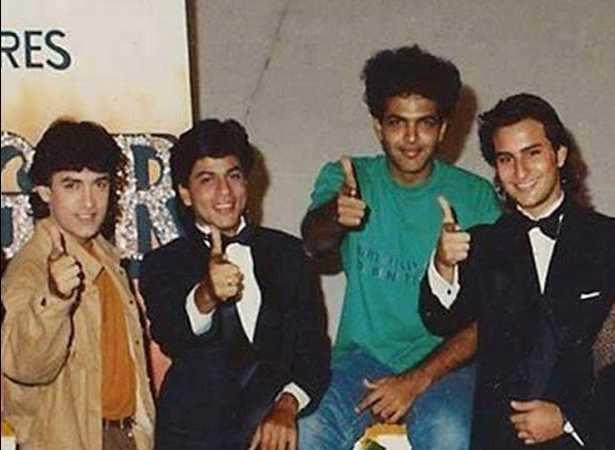 Aamir Khan, Shah Rukh Khan, Ashutosh Gowariker, Saif Ali Khan