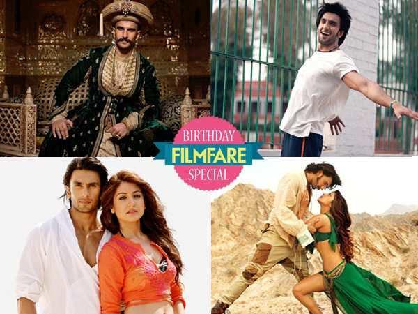 Ranveer Singh's style evolution
