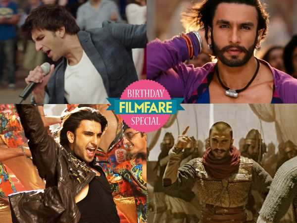 Ranveer Singh's top 8 dance numbers