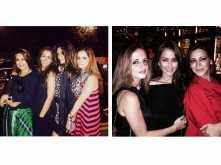 Sonali Bendre, Sussanne Khan and Gayatri Joshi's BFF bonding in London