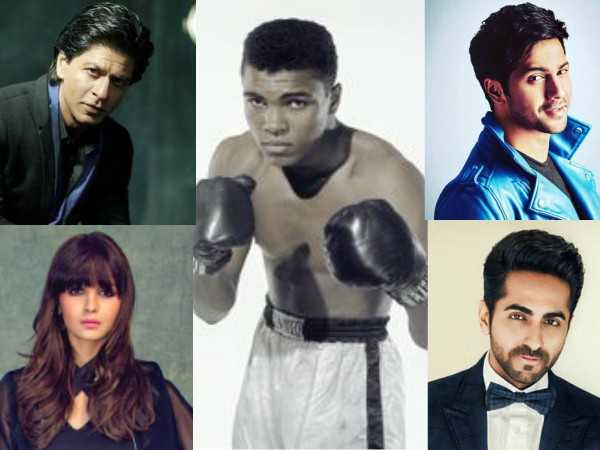 Bollywood mourns the death of boxing legend Muhammad Ali