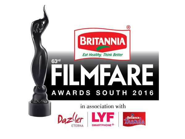 Nominations for the 63rd Britannia Filmfare Awards (South)