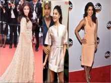 Aishwarya, Jacqueline and Priyanka rock nude colours