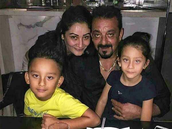 Sanjay Dutt and Manyata's family time