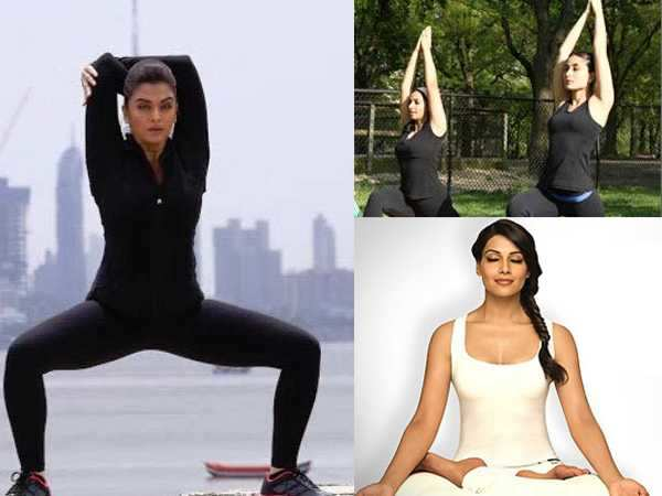 Actresses Who Live By Yoga