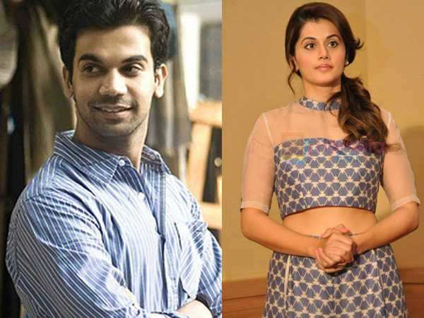 Rajkummar Rao and Taapsee Pannu to romance each other
