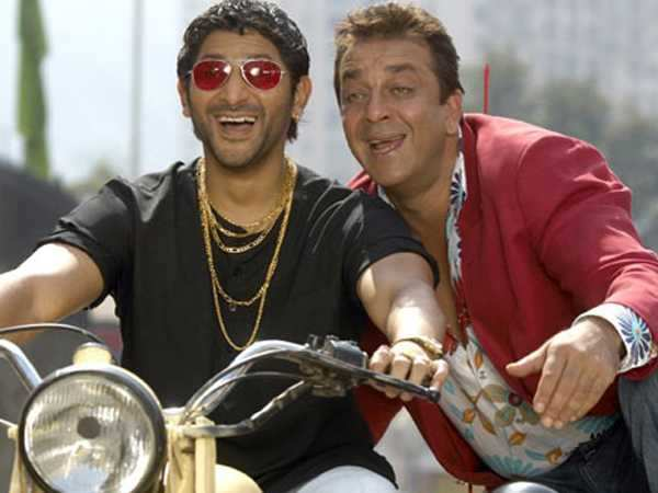 Arshad Warsi, Sanjay Dutt and Rajkumar Hirani reunite for Munnabhai