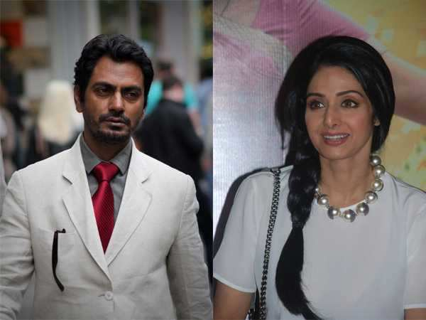 Nawazuddin Siddiqui signs a thriller with Sridevi