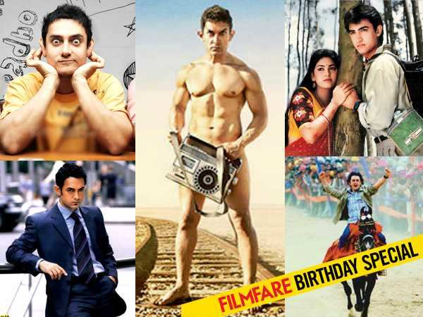 16 Iconic Roles Of Aamir Khan Filmfarecom