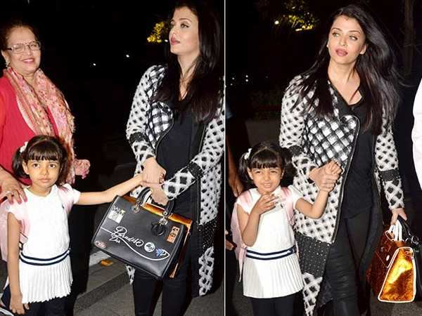 Aishwarya Rai Bachchan sets off for the Cannes Film Festival