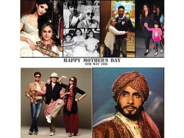 It's indeed a special Mothers Day for Amitabh Bachchan