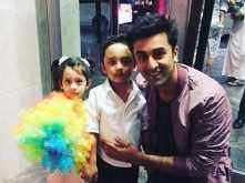 Sanjay Dutt's kids have a play date with Ranbir Kapoor and Kajol's son