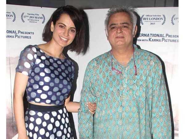 Kangana Ranaut all set to star in Hansal Mehta's next