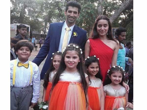Aditya Roy Kapur And Shraddha Kapoor S Church Wedding