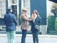 Kareena Kapoor Khan and Saif Ali Khan get mushy in London