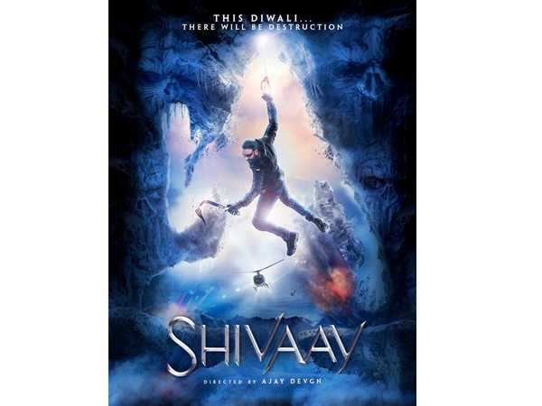 Ajay Devgn unveils the new Shivaay poster