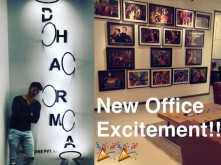 Varun Dhawan gives us a glimpse of the new Dharma office