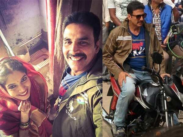 Akshay Kumar and Bhumi Pednekar kickstart Toilet: Ek Prem Katha