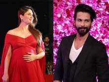 Ex-lovers, Shahid Kapoor and Kareena Kapoor Khan hug each other at an event