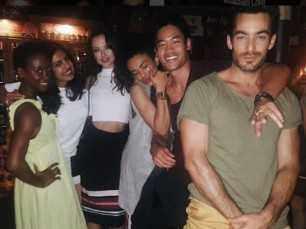Priyanka Chopra has a hearty party with her Quantico team
