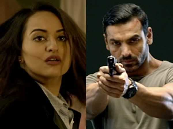 John Abraham and Sonakshi Sinha's Force 2 goes under the Censor board knife