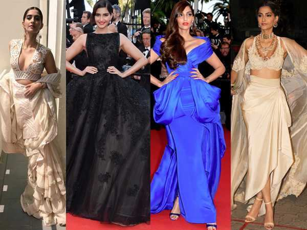 9 looks of Sonam Kapoor that prove she's the ultimate fashionista