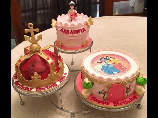 Little Princess Aaradhya Bachchans Birthday Cakes Are The Cutest