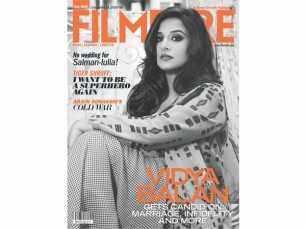 Vidya Balan goes glamorous and desi for Filmfare's December cover