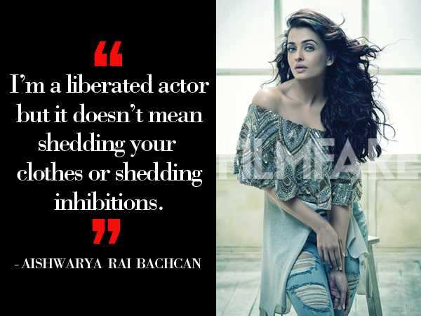 Aishwarya Rai Bachchan opens up about why she stayed away from doing intimate scenes all this while