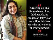 Madhumati, Jewel Thief, Sangam, Silsila... I've watched and re-watched these films - Meghna Gulzar