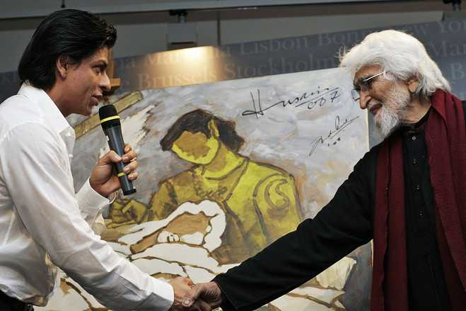 Hussain and SRK