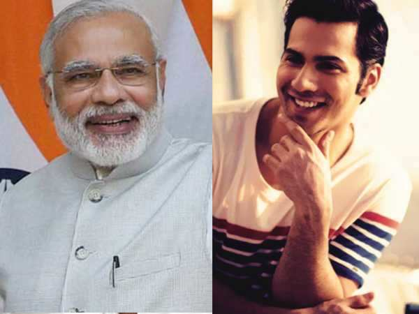 Varun Dhawan's birthday wishes for Prime Minister Narendra Modi