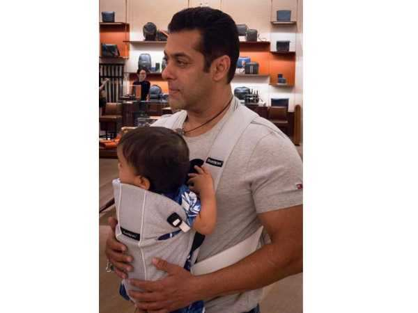 Check out Salman Khan's adorable photo with nephew Ahil